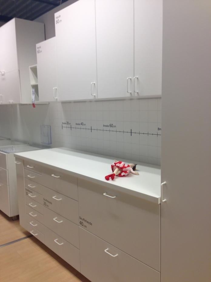 I det nye kjøkken-systemet går alle mål opp i 20 cm.